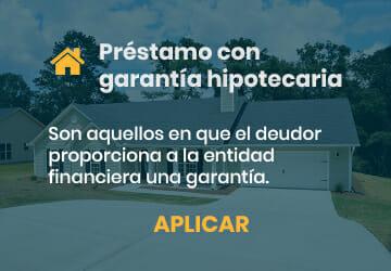 Préstamo con garantía hipotecaria