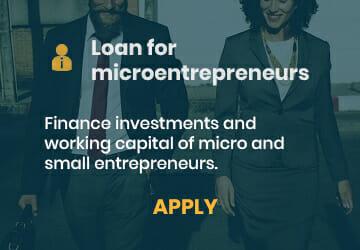 Loan for microentrepreneurs